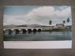 Tarjeta Postal - Postcard - Bridge At Martin Pena - San Juan - 1230 - Porto Puerto Rico - Antilles - Puerto Rico