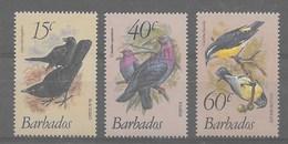 Serie De Barbados Nº Yvert 545/47 (**) - Barbados (1966-...)