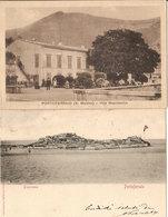 (C).Portoferraio(LI).Lotto 2 Cartoline.F.to Piccolo.Una Viaggiata (c18) - Livorno