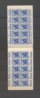 ALGERIE CARNET 65c. Bleu, Casbah, S.34 + S.70 Avec Sigle PTT, SUP X4070 - Algérie (1924-1962)