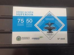 Costa Rica - Postfris / MNH - Sheet 75 Jaar Hoger Onderwijs 2018 - Costa Rica