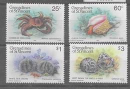 Serie De Granadines Y San Vicente Nº Yvert 374/78 (**) - St.Vincent Y Las Granadinas