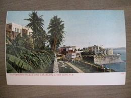 Tarjeta Postal - Postcard - Governor's Palace And Casablanca - San Juan - 1231 - Porto Puerto Rico - Antilles - Puerto Rico