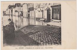 """1 Cpa Joigny """"Inondation Du 22 Janvier 1910"""" - Joigny"""