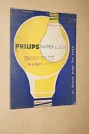 Philips, Ancien Bloc Note Publicitaire,original,collection,collector,13,5 Cm. Sur 10 Cm. - Pubblicitari