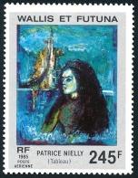 WALLIS ET FUTUNA 1985 - Yv. PA 147 **   Faciale= 2,05 EUR - Tableau De Patrice Nielly  ..Réf.W&F22122 - Poste Aérienne