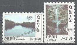 Perou - Peru 1991 Yvert 958-59, América UPAEP, Water - MNH - Perú