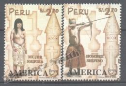 Perou - Peru 1997 Yvert 1105-06, América UPAEP, Traditional Costumes - MNH - Perú
