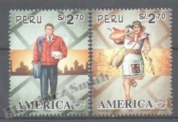 Perou - Peru 1997 Yvert 1107-08, América UPAEP, Postman - MNH - Perú