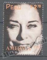 Perou - Peru 1998 Yvert 1148, América UPAEP, Famous Women - MNH - Perú