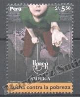 Perou - Peru 2006 Yvert 1517, América UPAEP, Fight Against Poverty - MNH - Perú