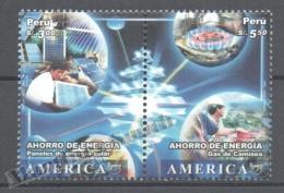 Perou - Peru 2006 Yvert 1605-06, América UPAEP, Saving Energy - MNH - Perú