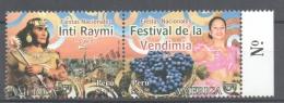 Perou - Peru 2008 Yvert 1731-32, América UPAEP, National Celebrations - MNH - Perú