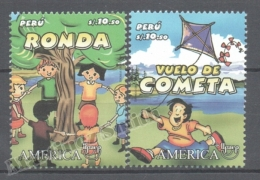 Perou - Peru 2009 Yvert 1798-99, América UPAEP, Traditional Games - MNH - Perú