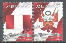 Perou - Peru 2010 Yvert 1881-82, América UPAEP, National Symbols - MNH - Perú