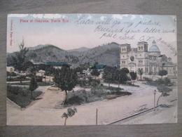 Tarjeta Postal - Postcard - Plaza At Guayama - Porto Puerto Rico - Antilles - Stamp - Puerto Rico