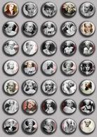 Frances Farmer  Movie Film Fan ART BADGE BUTTON PIN SET (1inch/25mm Diameter) 35 DIFF - Films