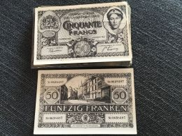 Luxembourg Billet De Banque, Peu Commun - Lussemburgo - Città