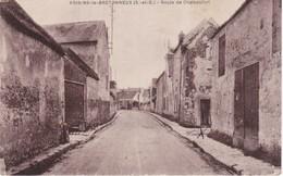 CPA  78  VOISINS LE BRETONNEUX  Route De Chateaufort - Autres Communes
