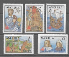 Serie De Anguilla Nº Yvert 62/66 (**) - Anguilla (1968-...)