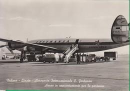 AEREO. AEROPORTO.  AEREI. Aviazione.  Aeroporto Milano Linate. Forlanini. - 1946-....: Era Moderna
