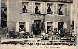 03 - BOURBON L'ARCHAMBAULT --  Les Trois Puits - Fontaine Chaude - Bourbon L'Archambault