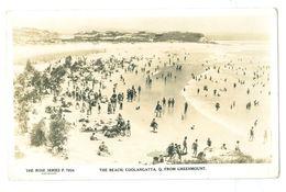 Australia, Coolangatta, The Beach. Real Photo Pc, Unused. - Gold Coast