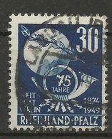 Frz. Zone Rheinland-Pfalz 52 Gest. - French Zone