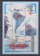 Brazil 1997 Antarctica / Proantar M/s ** Mnh (39548) - Blokken & Velletjes