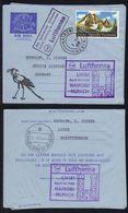 KENYA - NAIROBI - LUFTHANSA / 1968 AEROGRAMME ILLUSTRE POUR L ALLEMAGNE (ref 1932) - Kenya (1963-...)