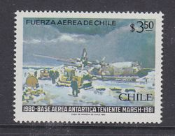 Chile 1981 Antarctica / Base Teniente Marsh 1v ** Mnh (39544H) - Chili