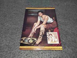 SPAIN MAXIMUM CARD ART PAINTING MUSEO ROMERO TORRES - LA CHIQUITA PICONERA 1974 - Non Classificati