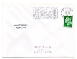 FAUNE / POISSON - TRUITE = 16 RUELLE 1969 = FLAMME Codée = SECAP Illustrée ' Vallée De La TOUVRE / Ses Truites' - Marcophilie (Lettres)