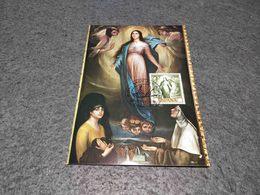 SPAIN MAXIMUM CARD ART PAINTING MUSEO ROMERO TORRES - VIRGEN DE LOS FAROLES 1974 - Non Classificati