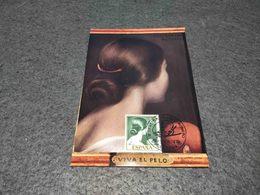 SPAIN MAXIMUM CARD ART PAINTING MUSEO ROMERO TORRES - !VIVA EL PELO 1974 - Non Classificati