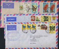 KENYA / 12 LETTRES AVION POUR L ALLEMAGNE (ref 598) - Kenya (1963-...)