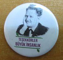 AC - NAZIM HIKMET RAN TURKISH POET PIN - BADGE - Other