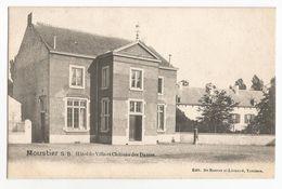 Moustier Sur Sambre Hôtel De Ville Et Château Des Dames Carte Postale Ancienne Jemeppe Sur Sambre - Jemeppe-sur-Sambre