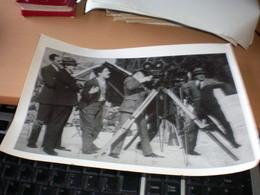 CHARLIE CHAPLIN Recording Big Format - Photographs