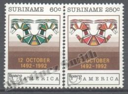 Surinam - Suriname 1992 Yvert 1268-69, America UPAEP,Discovery Of America - MNH - Surinam
