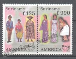 Surinam - Suriname 1996 Yvert 1403-04, America UPAEP, Traditional Costumes - MNH - Surinam