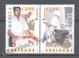 Surinam - Suriname 1997 Yvert 1465-66, America UPAEP, The Postman - MNH - Surinam