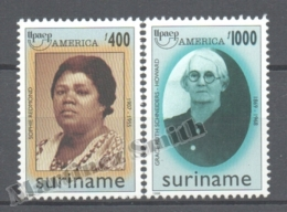 Surinam - Suriname 1998 Yvert 1497-98, America UPAEP, Famous Women - MNH - Surinam