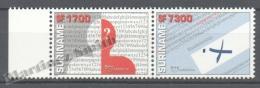 Surinam - Suriname 2002 Yvert 1639-40, America UPAEP,  - MNH - Surinam