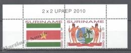 Surinam - Suriname 2010 Yvert 2169-70, America UPAEP, National Symbols - MNH - Surinam
