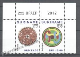 Surinam - Suriname 2012 Yvert 2348-49, America UPAEP - MNH - Surinam