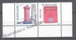 Surinam - Suriname 2011 Yvert 2256-57, America UPAEP, Letter Boxes - MNH - Surinam