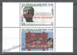 Surinam - Suriname 2015 Yvert 2553-54, America UPAEP - MNH - Surinam