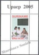 Surinam - Suriname 2005 Yvert BF-101, America UPAEP, Education - Miniature Sheet - MNH - Surinam