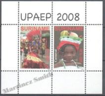 Surinam - Suriname 2008 Yvert BF-108, America UPAEP, National Celebrations - MNH - Surinam